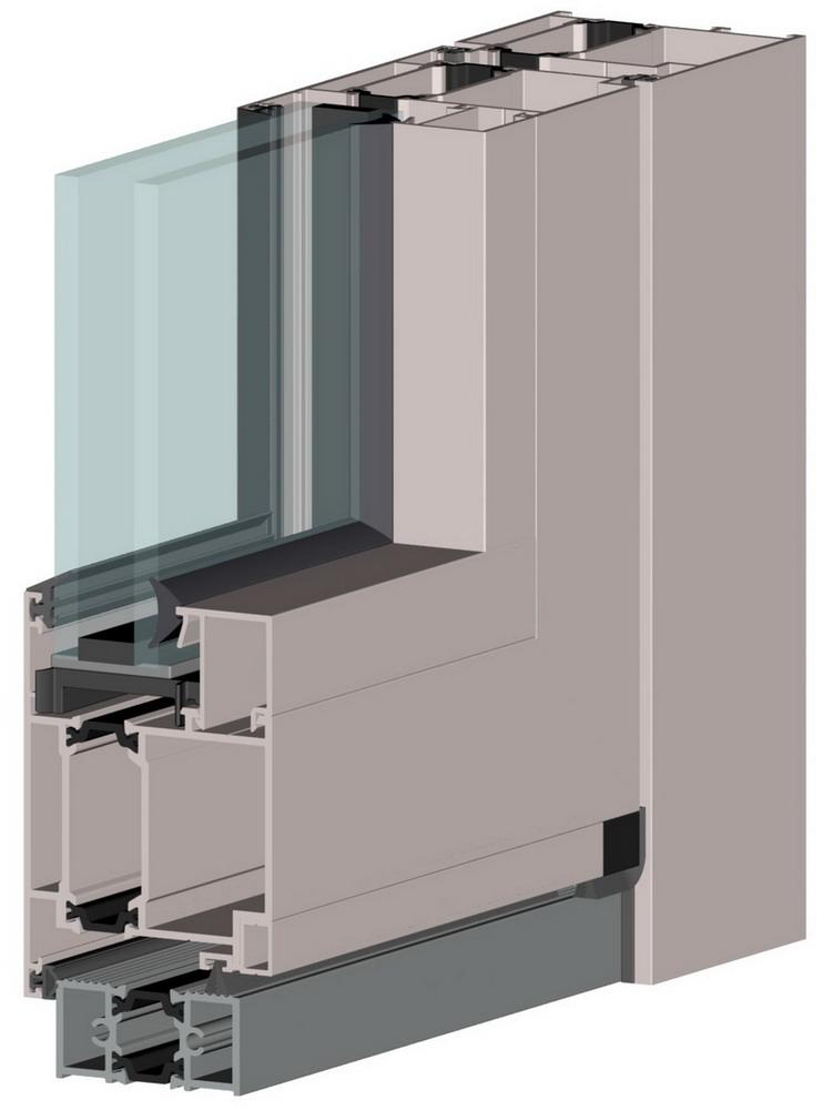 алюминиевые двери алютех